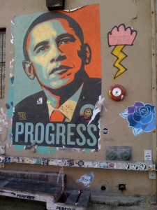 obama graffiti art