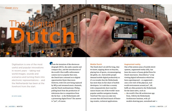 Writing portfolio | The Digital Dutch