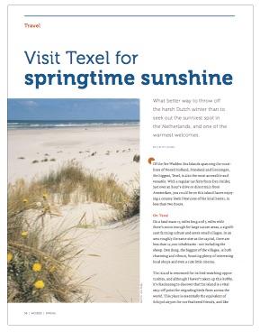 Texel in spring